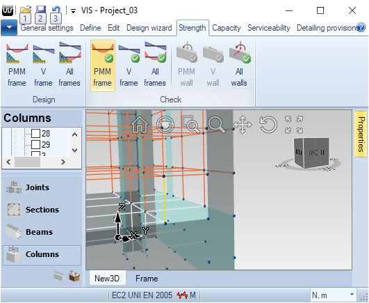 Strength Design | VIS Concrete Design Software