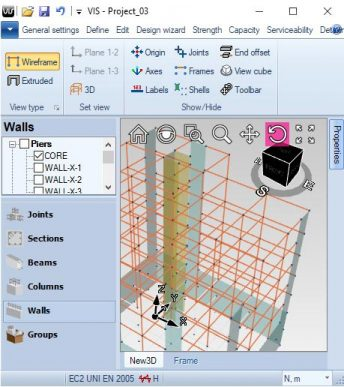 Capacity Design | VIS Concrete Design